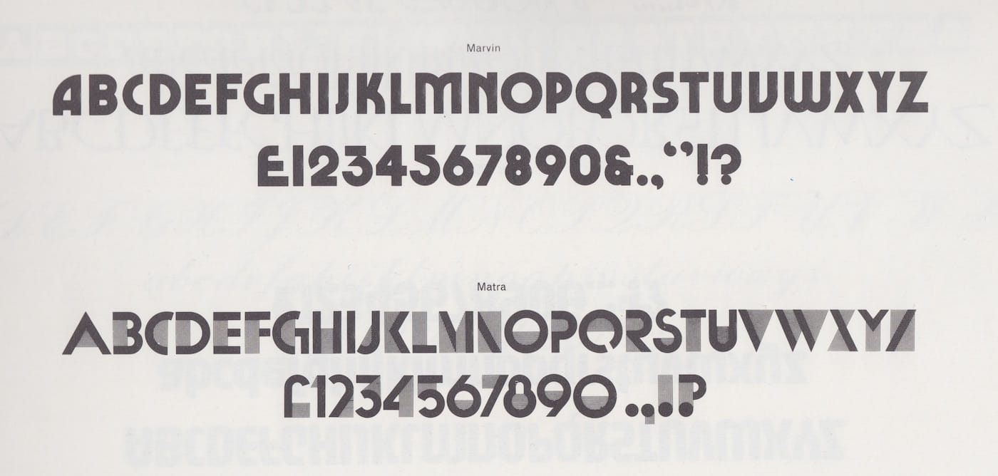 Marvin Visions — An Expressive Variable Font